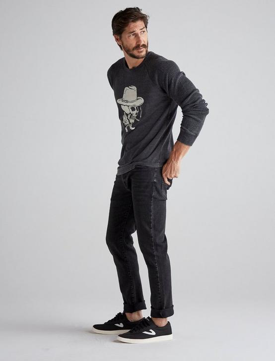 SKULL COWBOY THERMAL, JET BLACK, productTileDesktop