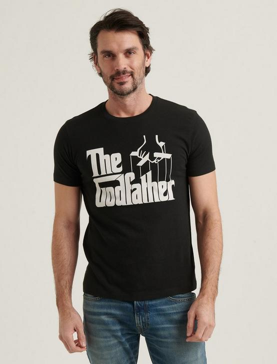 THE GOD FATHER TEE, JET BLACK, productTileDesktop