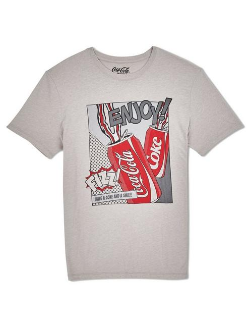 COCA-COLA POP ART TEE, PORPOISE
