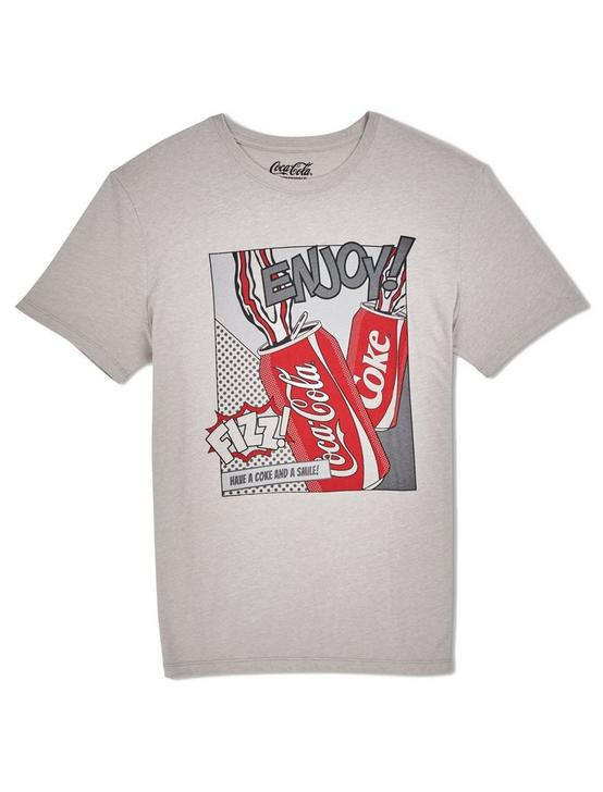 COCA-COLA POP ART TEE, PORPOISE, productTileDesktop