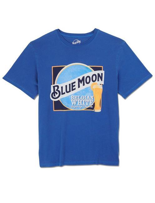 BLUE MOON BELGIAN WHITE TEE, MONACO BLUE