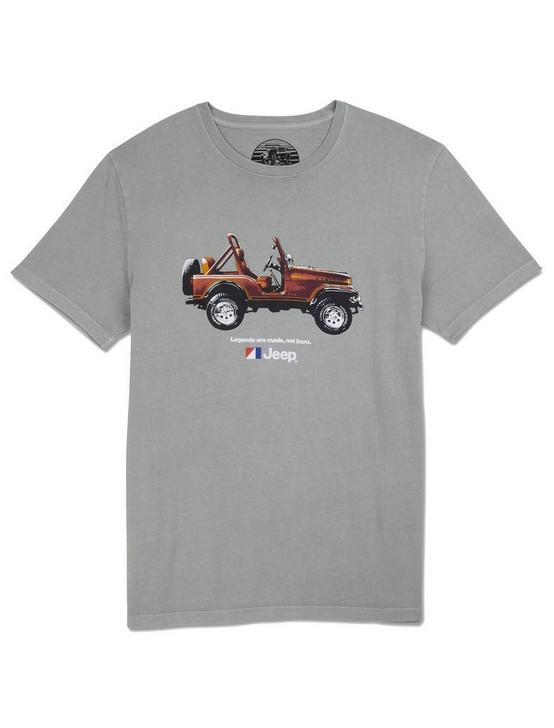 JEEP LEGENDS TEE, WILD DOVE, productTileDesktop
