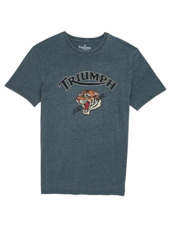 TRIUMPH TIGER TEE, DARKEST SPRUCE, productTileDesktop