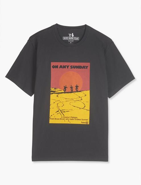 ON ANY SUNDAY POSTER TEE,