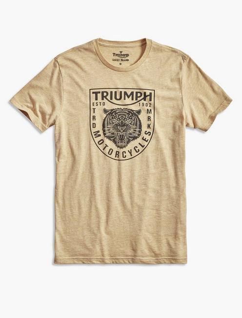 TRIUMPH TIGER HEAD, GOLDEN SPICE
