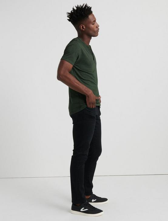 Venice Burnout Henley Shirt, CYPRESS, productTileDesktop