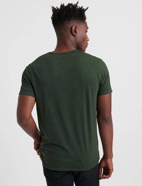 Venice Burnout Henley Shirt, CYPRESS