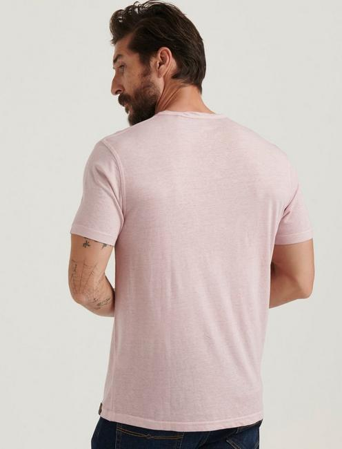 Venice Burnout Notch Neck Tee, ZEPHYR