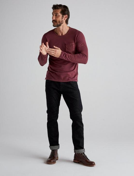 SUNSET CREW NECK LONG SLEEVE TEE, WINE TASTING, productTileDesktop