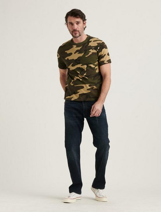 SUNSET CREW NECK TEE, CAMO (ARMY COLORS), productTileDesktop