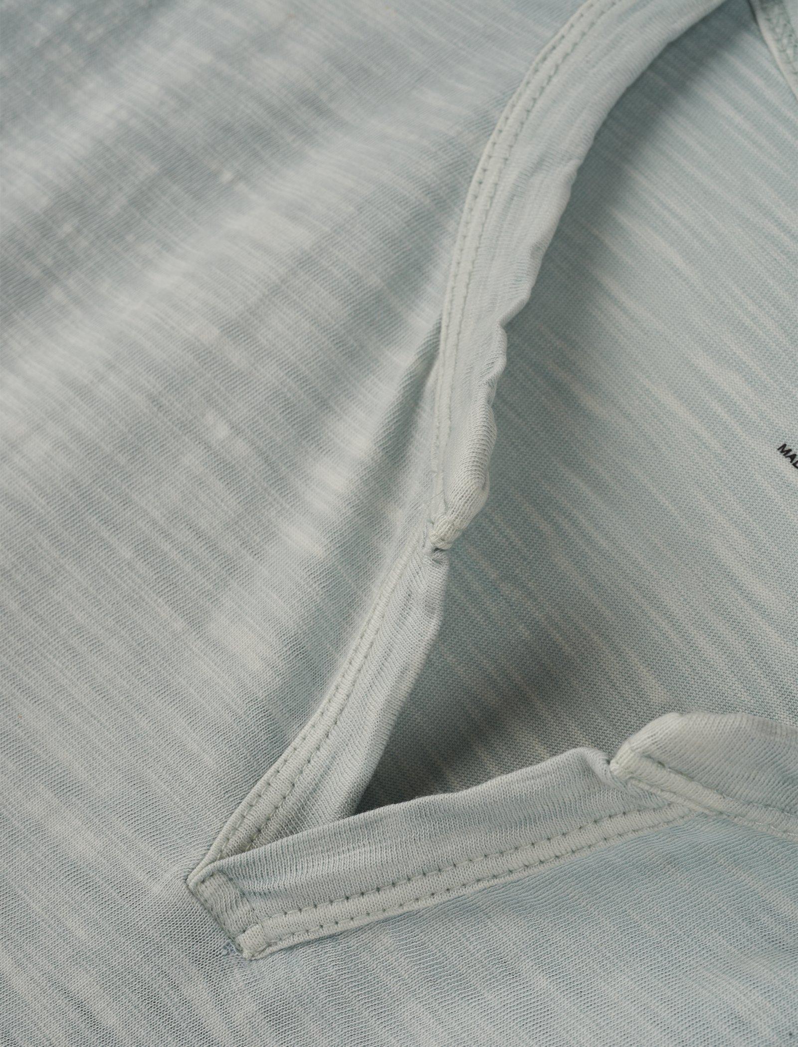SLUB NOTCH NECK TEE, image 2