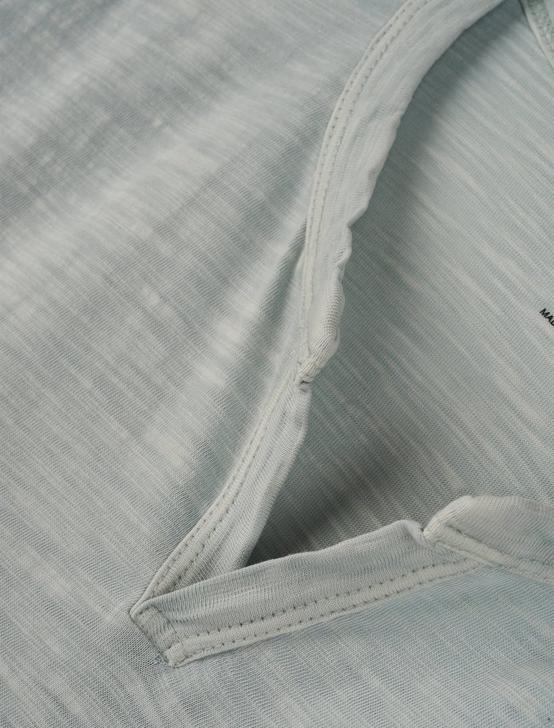 SHORT SLEEVE SLUB NOTCH NECK TEE, OMPHALODES, productTileDesktop