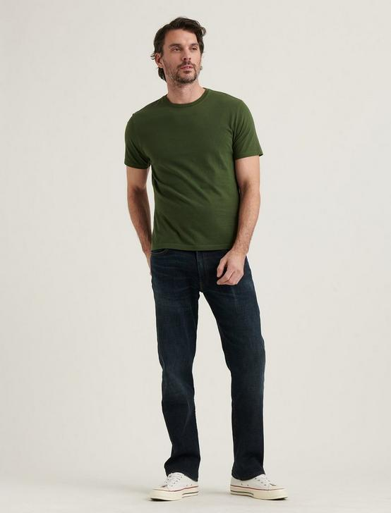 SHORT SLEEVE SUNSET CREW NECK TEE, 915 GREEN, productTileDesktop