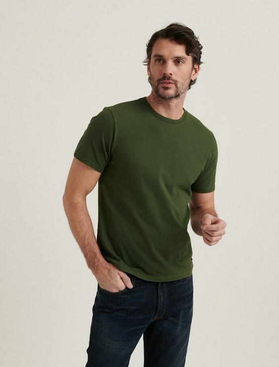 SUNSET CREW NECK TEE, 915 GREEN, productTileDesktop