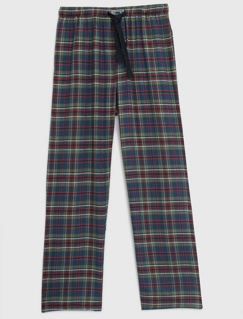 PLAID LOUNGE PANTS,