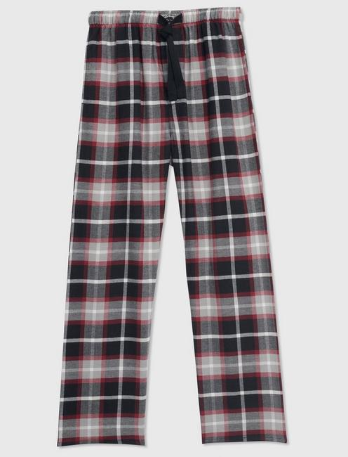 PLAID LOUNGE PANTS, MULTI