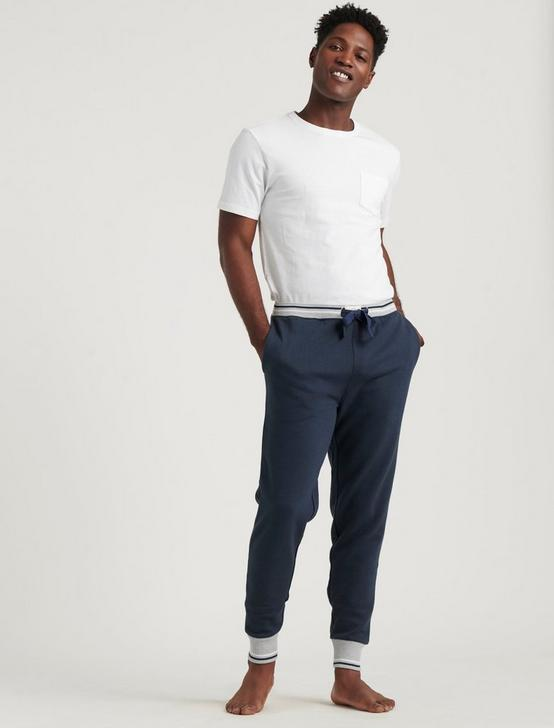 SOFT NAVY LOUNGE PANTS, DARK BLUE, productTileDesktop