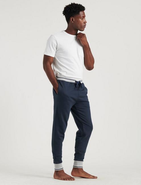 SOFT NAVY LOUNGE PANTS, DARK BLUE