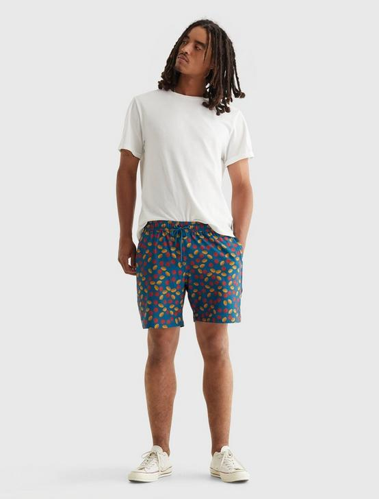 TRUE SWIM SHORT, NAVY CITRUS PRINT, productTileDesktop