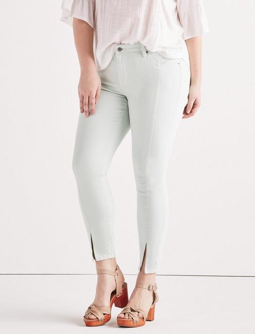 Plus Ginger Skinny Jean with Split Hem,