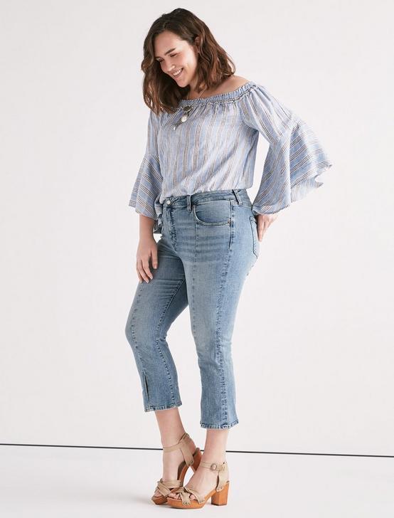 Plus Emma Mini Boot Jean, DIVINITY-CLEAN, productTileDesktop