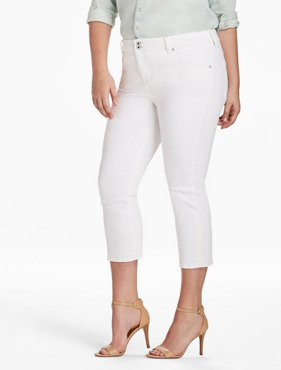 PLUS SIZE EMMA CROPPED JEAN IN CLEAN WHITE, CLEAN WHITE, productTileDesktop