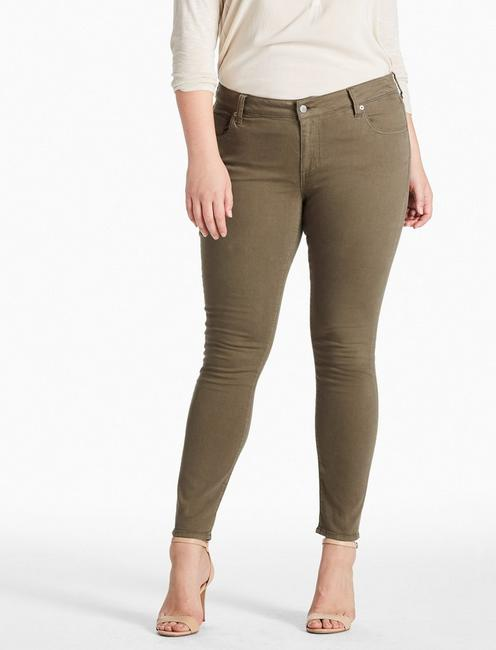 PLUS SIZE GINGER SKINNY JEAN IN PINE HILL,