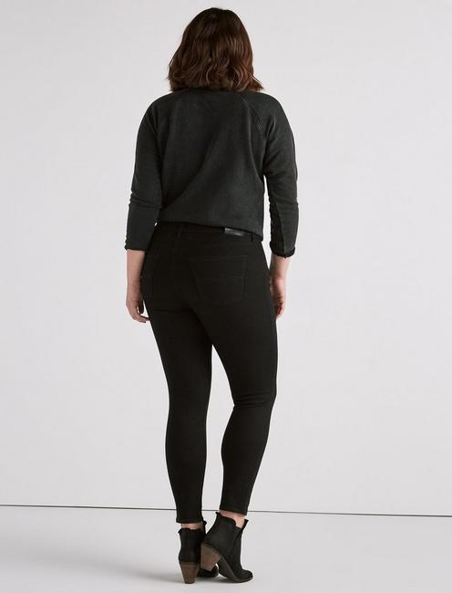 Plus Ginger Skinny Jean in Bell Road Black, BELL ROAD