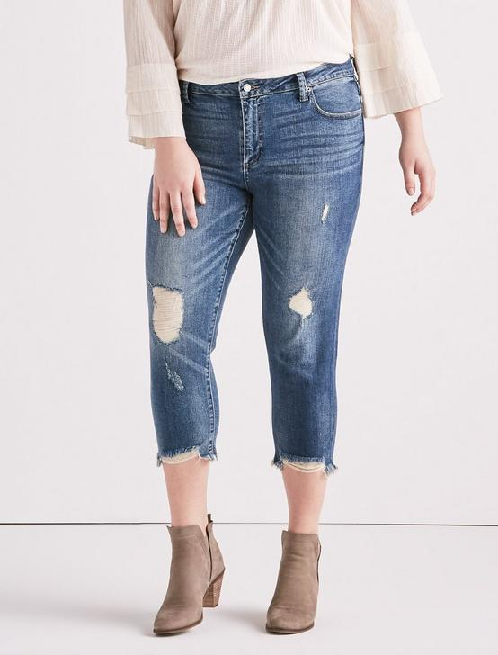 Plus Size Reese Boyfriend Jean In Beach Drive