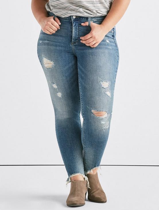Plus Lolita Mid Rise Skinny Jean, VIA ALCALDE-P, productTileDesktop