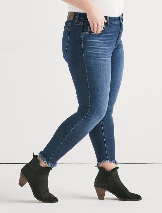 Plus Lolita Mid Rise Super Skinny Jean, BARCELONA-P, productTileDesktop