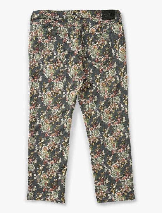LOLITA CROP, GREY MULTI FLORAL, productTileDesktop
