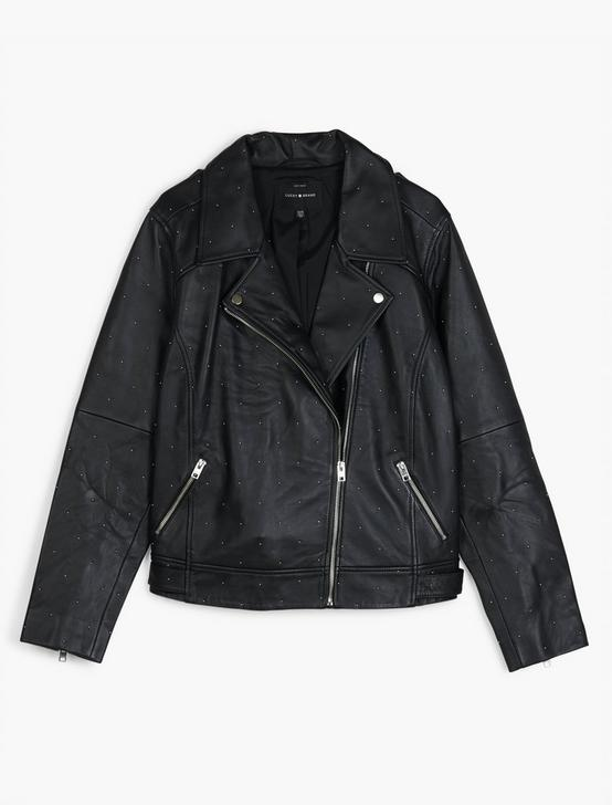 PIN DOT MOTO JACKET, 001 LUCKY BLACK, productTileDesktop