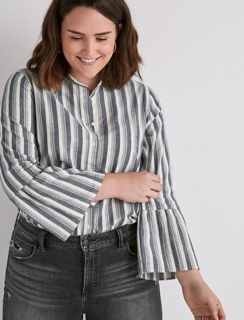 STRIPED HAZEL TOP,