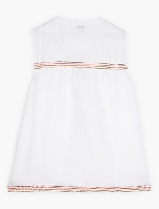 EMBROIDERED TANK, LUCKY WHITE, productTileDesktop