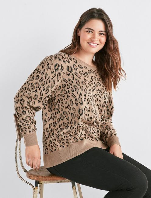 beautiful design top-rated real clearance Leopard Sweater | Lucky Brand