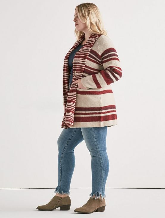 MULTI STRIPE CARDIGAN, MULTI, productTileDesktop