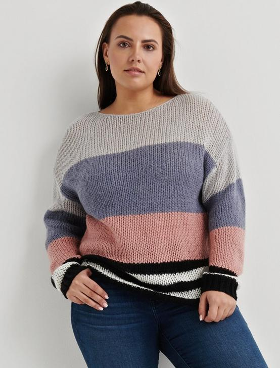 BOLD STRIPE PULLOVER, MULTI, productTileDesktop