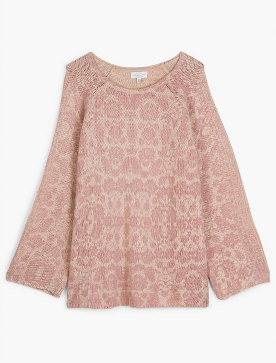 DAMASK PULLOVER, BLUSH MULTI, productTileDesktop