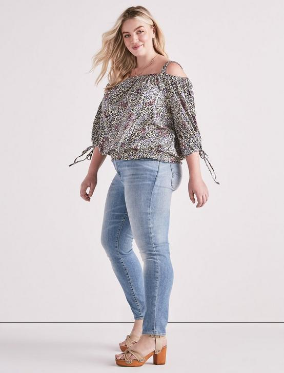 Floral Off The Shoulder Top, MULTI, productTileDesktop