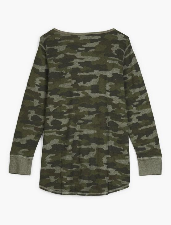NOVELTY HENLEY, CAMO OLIVE MULTI, productTileDesktop