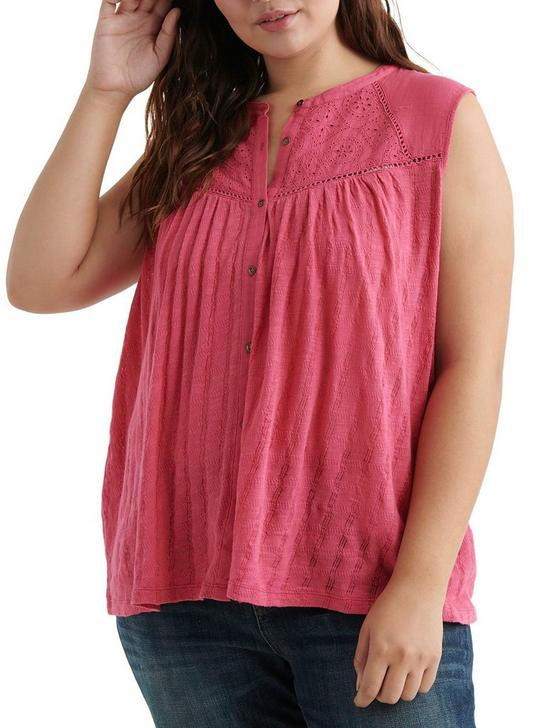 EYELET YOKE TANK, RASPBERRY, productTileDesktop