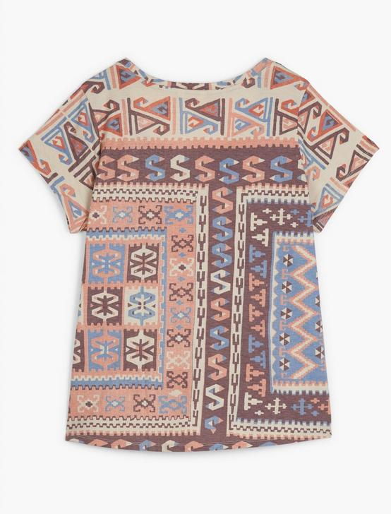 ALLOVER PRINT TEE, MULTI, productTileDesktop