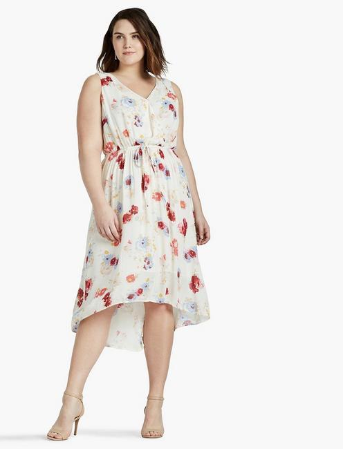 9f3380a490b Floral Printed Maxi Dress