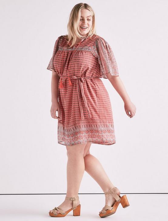 JENNA DRESS, PINK MULTI, productTileDesktop