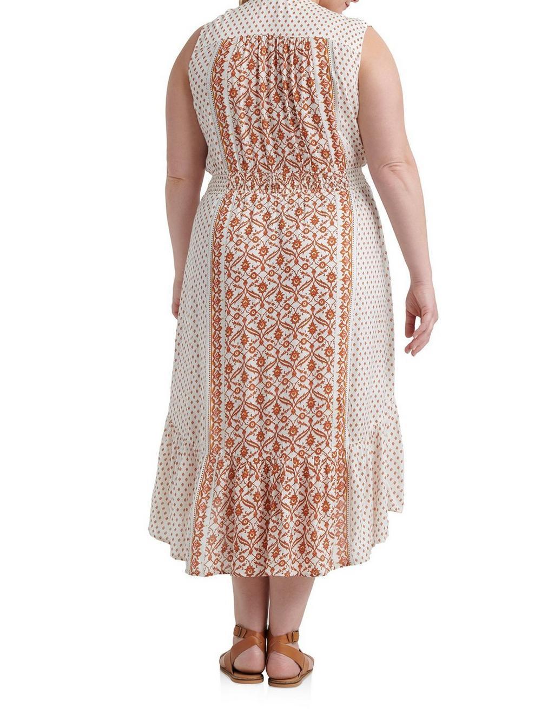BORDER PRINT FELICE DRESS, image 3