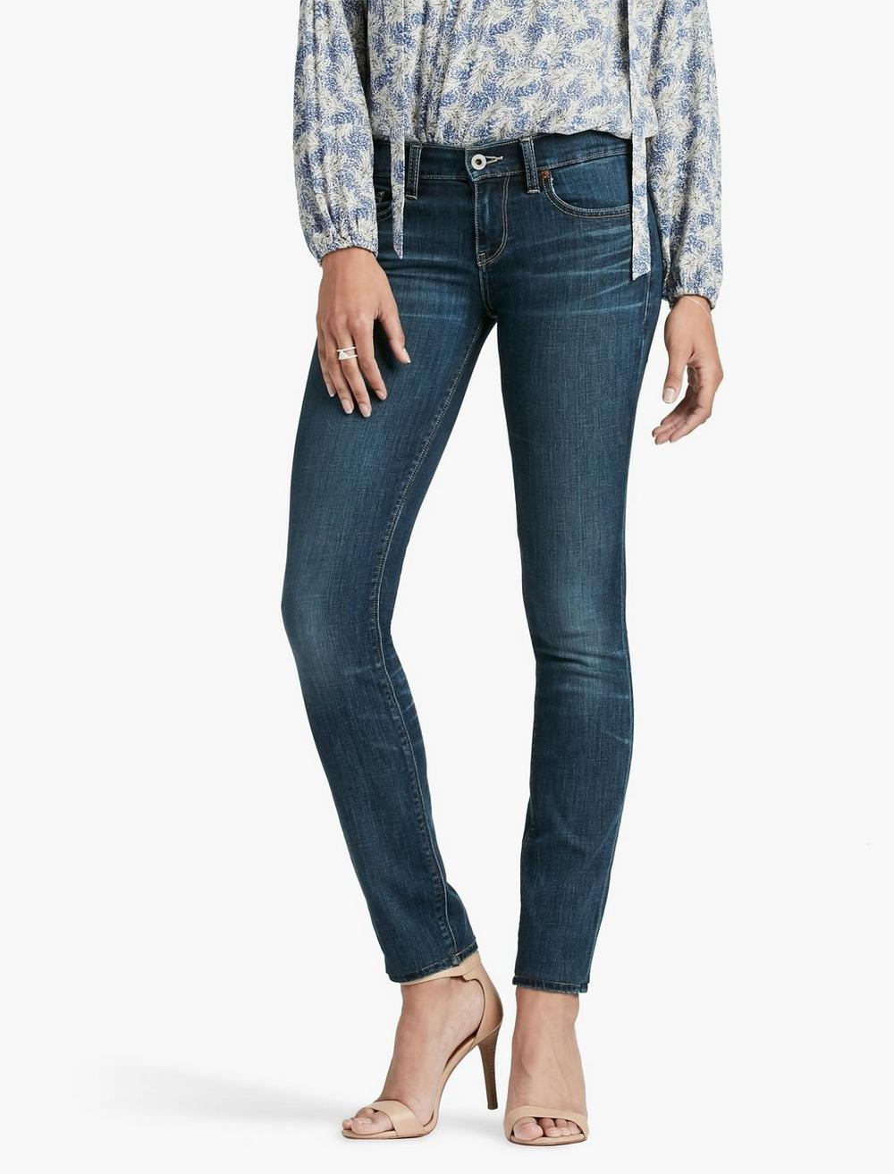 SOFIA MID RISE SKINNY JEAN IN BARRIER, image 1