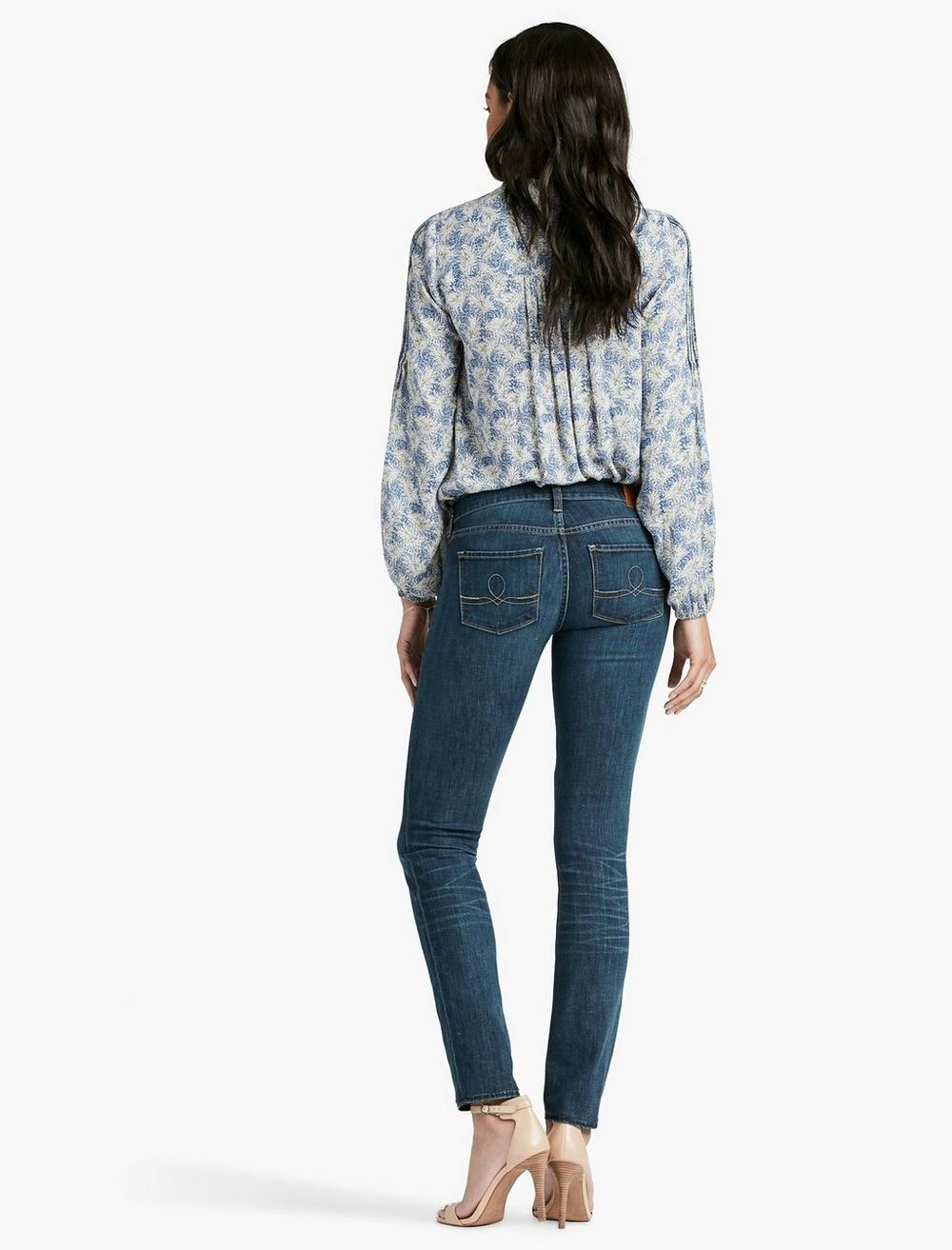 SOFIA MID RISE SKINNY JEAN IN BARRIER, image 3
