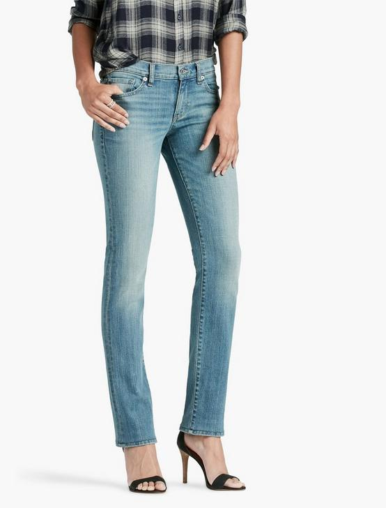 SWEET MID RISE STRAIGHT LEG JEAN IN REFLECTION, REFLECTION, productTileDesktop