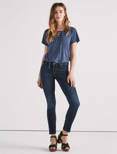 LOW RISE LOLITA SKINNY JEAN, TWILIGHT BLUE